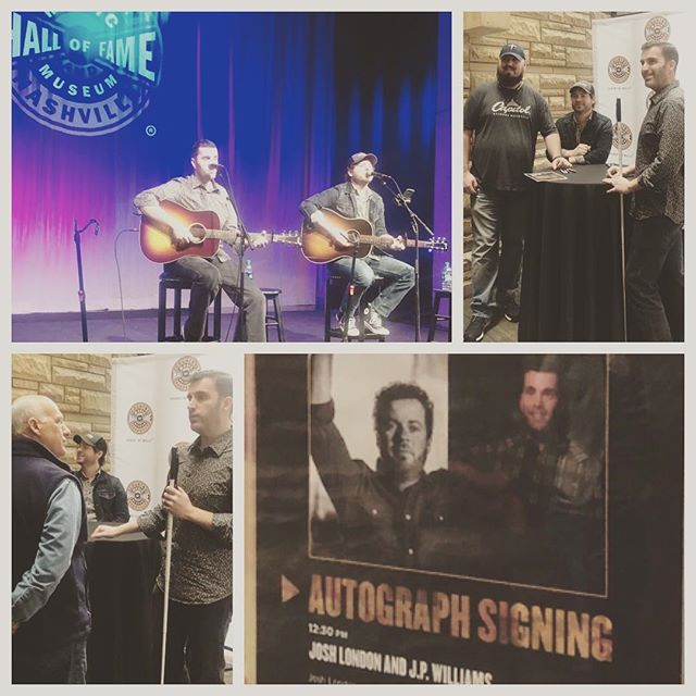 Thanks to @officialcmhof for inviting me and @joshua_london for today's Songwriters Session! It's always an honor to share #originalmusic with an audience that appreciates #songwriting. ... ... ... ... ... ... ... ... ... #nashville #songwriterslife #songs #song #songwriters