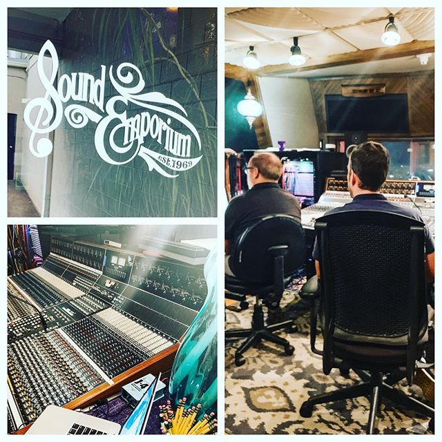 It feels good to be back #inthestudio to demo a new song with such talented people! — — — — — #songwriter #songwriterlife #originalmusic #countrymusic #nashville