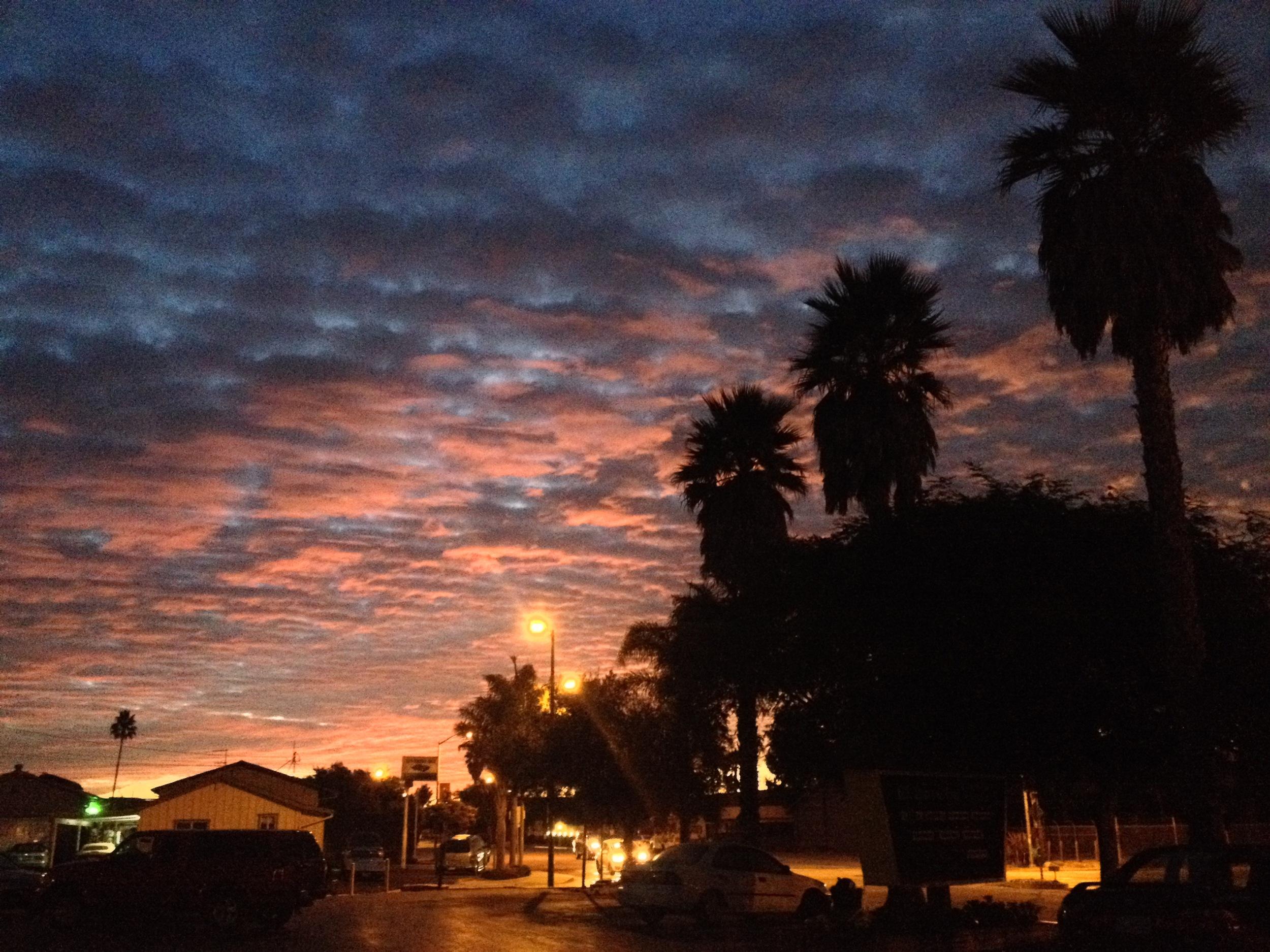 Sunrise in Santa Cruz