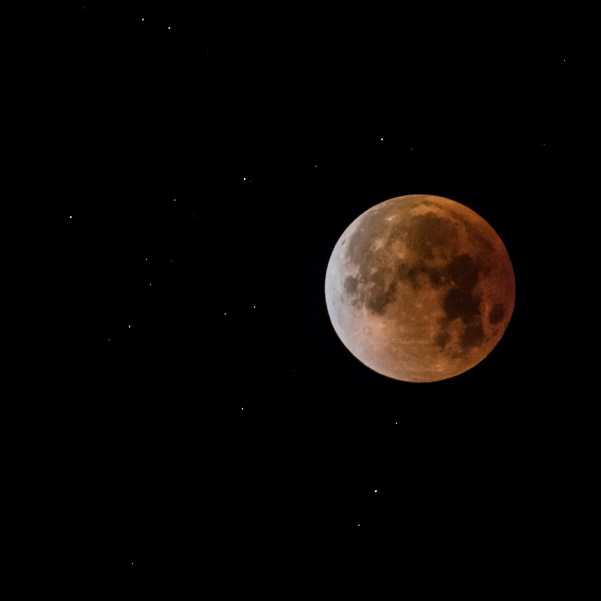 Photo of the January 31, 2018 lunar eclipse taken by Patrick Bremser  © Patrick Bremser Photography