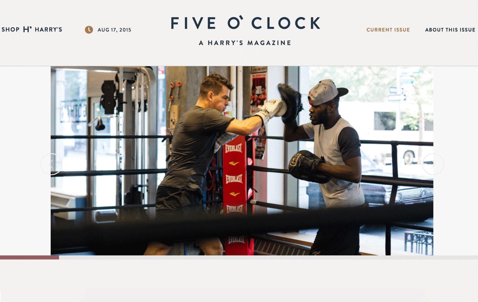 Five O' Clock  by Harry's
