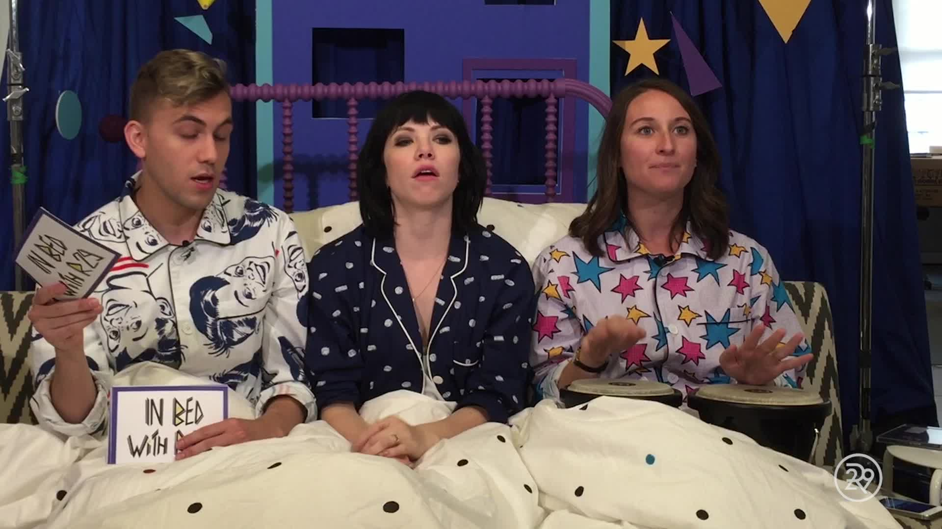 Carly Rae Jepsen  In Bed With Refinery 29