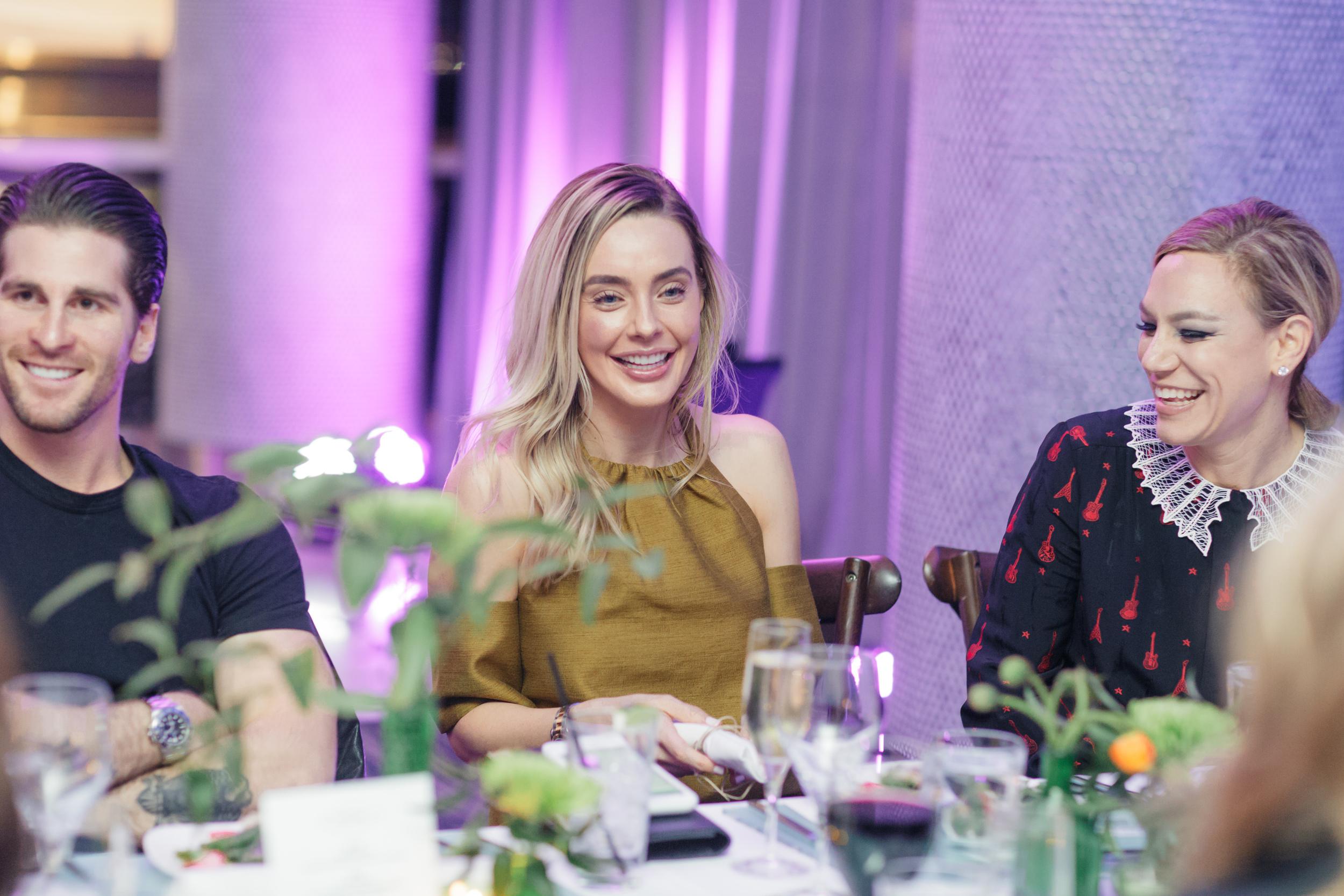 Lauryn Evarts of The Skinny Confidential and Elizabeth Cutler of SoulCycle.
