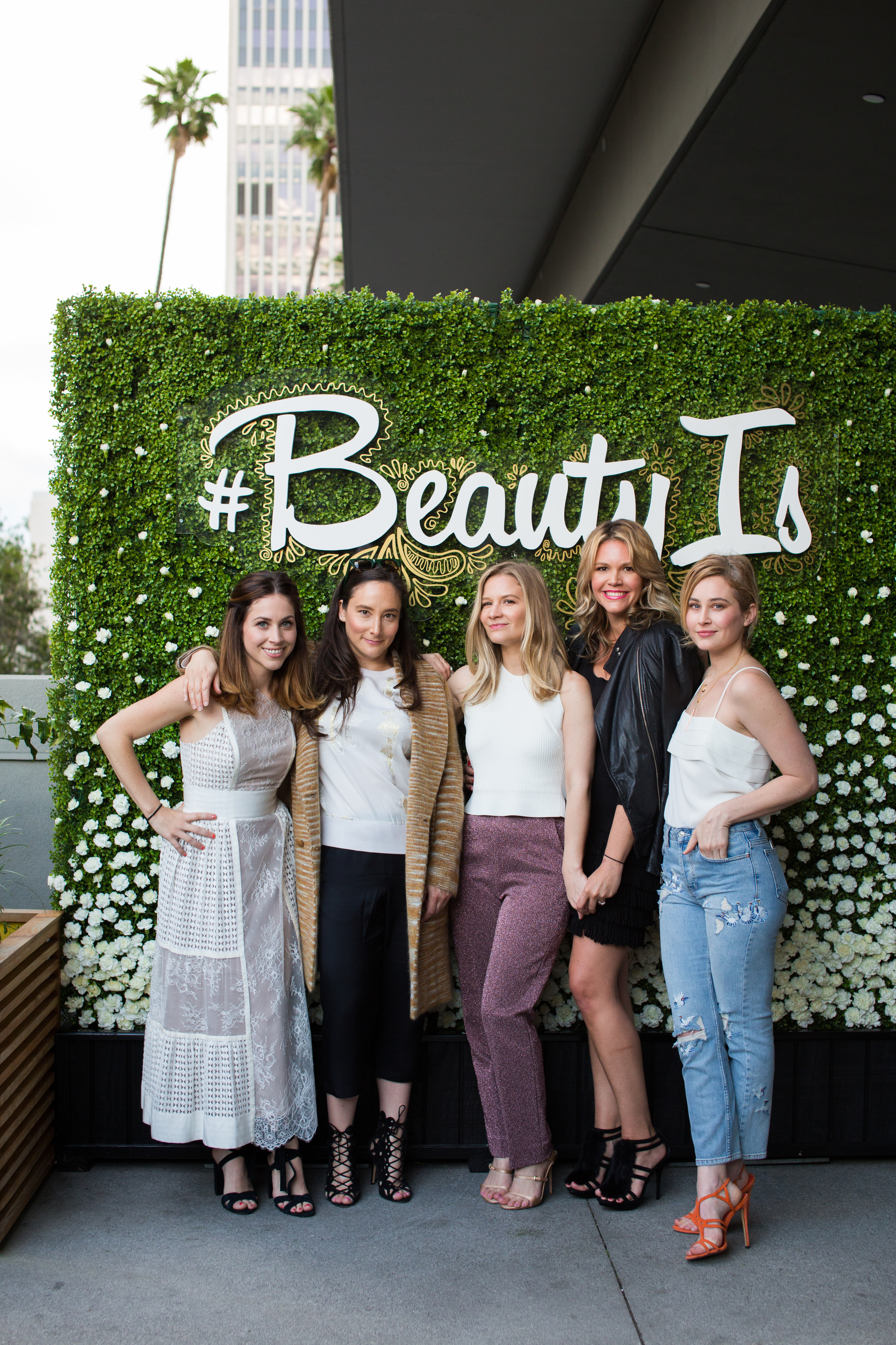 DBA and Create & Cultivate Team celebrate #BeautyIs with Dove.