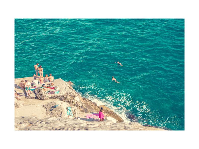 Seaside. Limited edition print by Alexandra Nazari .