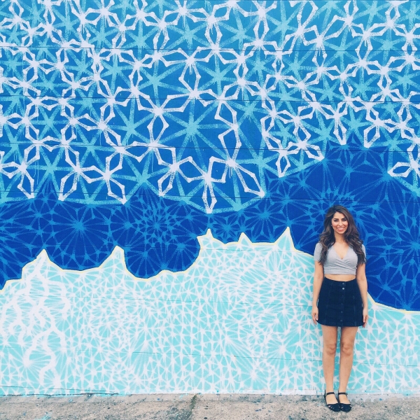 Geometric Star Wall | Living Walls, East Atlanta Village