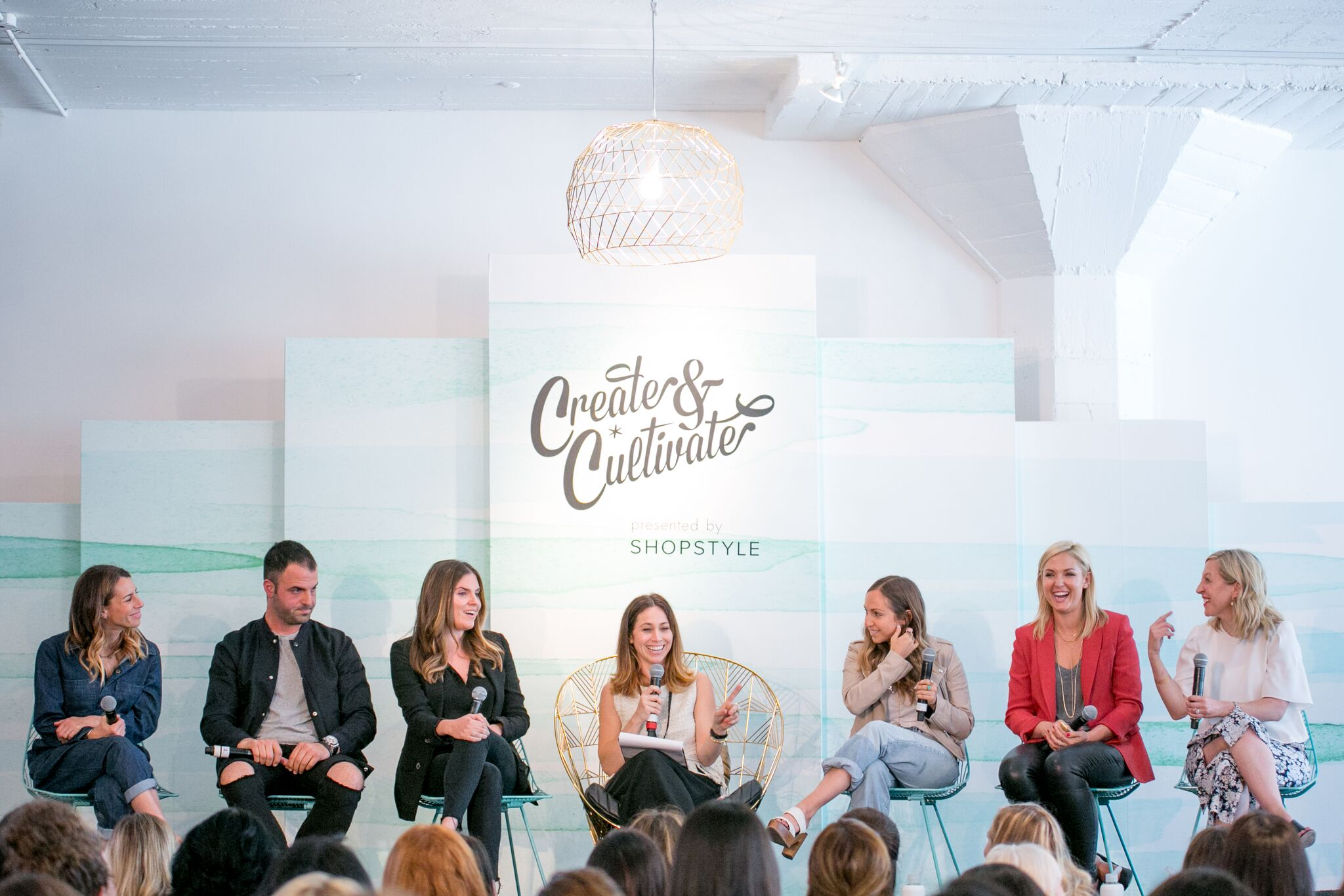 Jackie (center) and Susan (far right) on panel at CreateCultivateDTLA.
