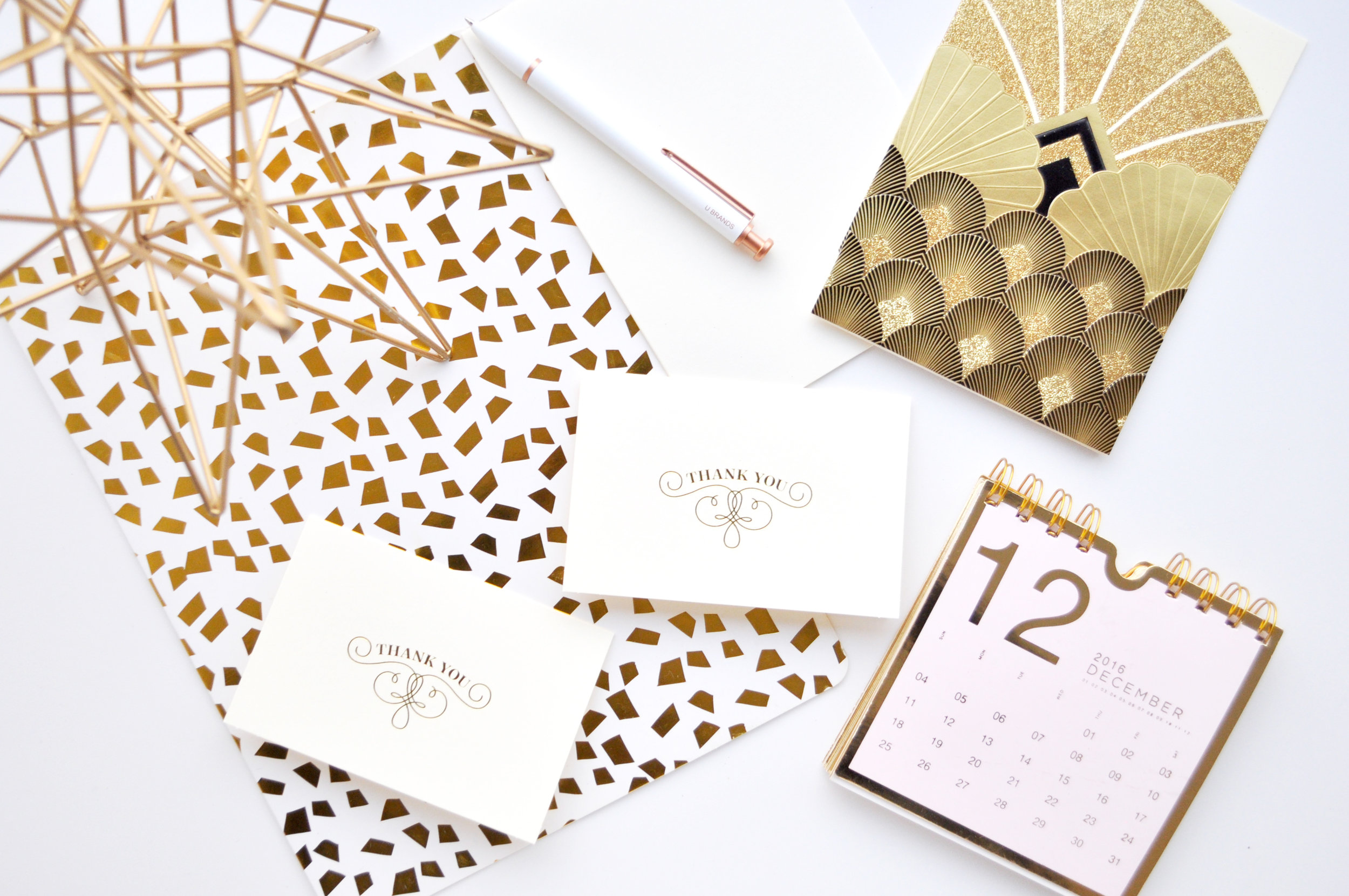 New Years cards from Papyrus.