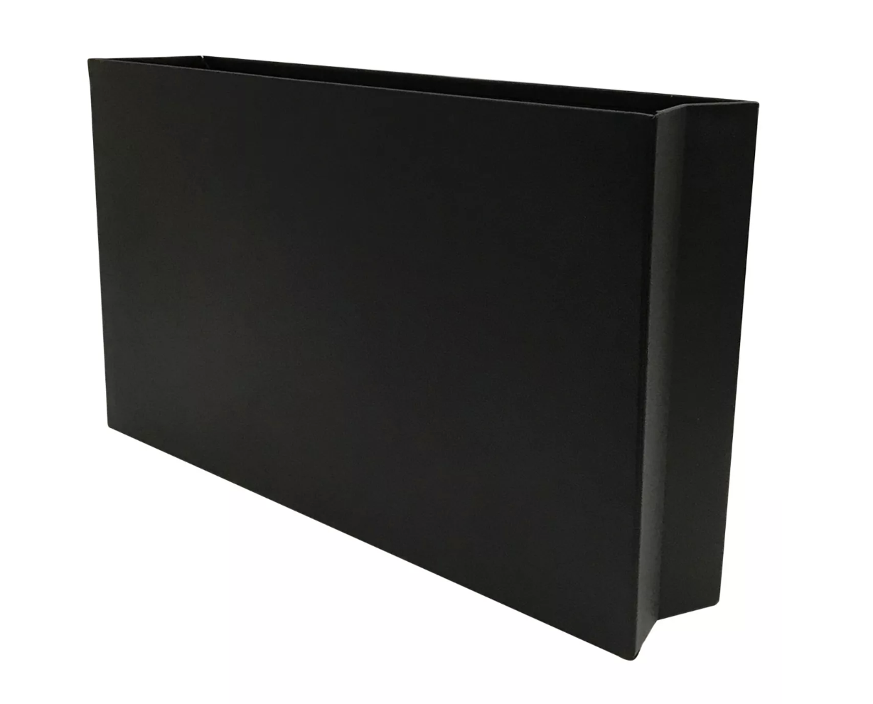 "Project 62 Metal Wall Pocket Black$15 - ""Files are a necessary evil but the storage of files doesn't necessarily have to be ugly. This chic metal holder will keep your files, catalogs, magazines or what-not hidden but within easy reach. The ever so subtly creased corners are reminiscent of a brown paper bag... lunch anyone?"""