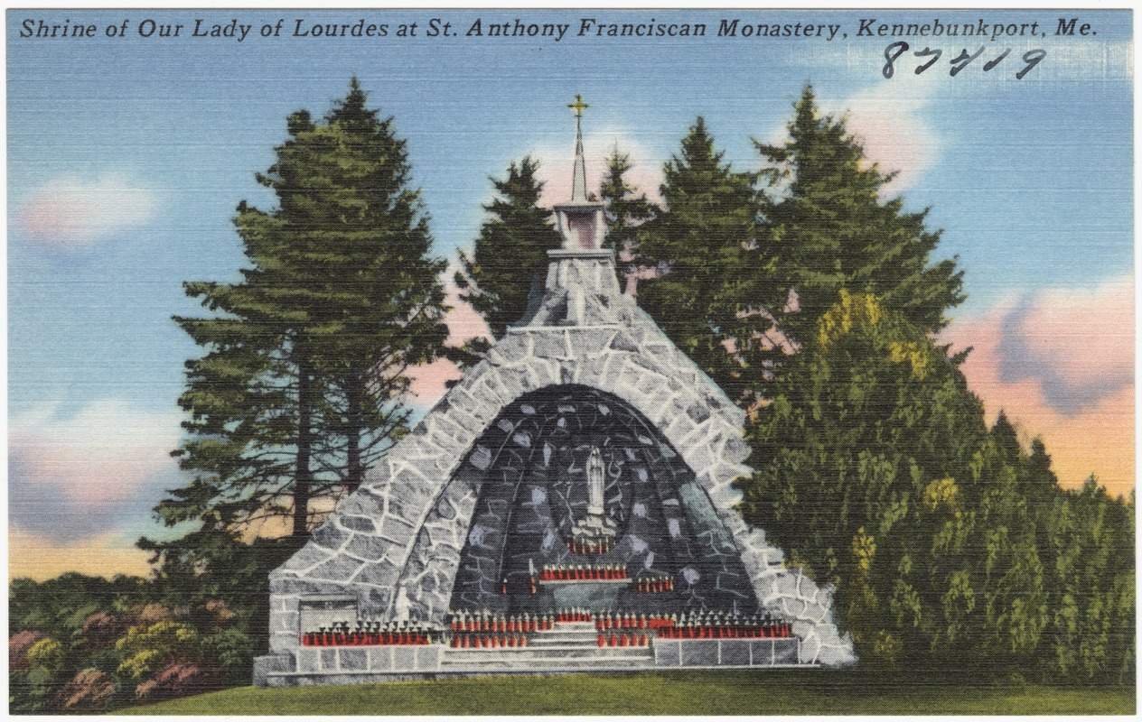 Shrine of Our Lady of Lourdes at Franciscan Monastery Kennebunk.jpg