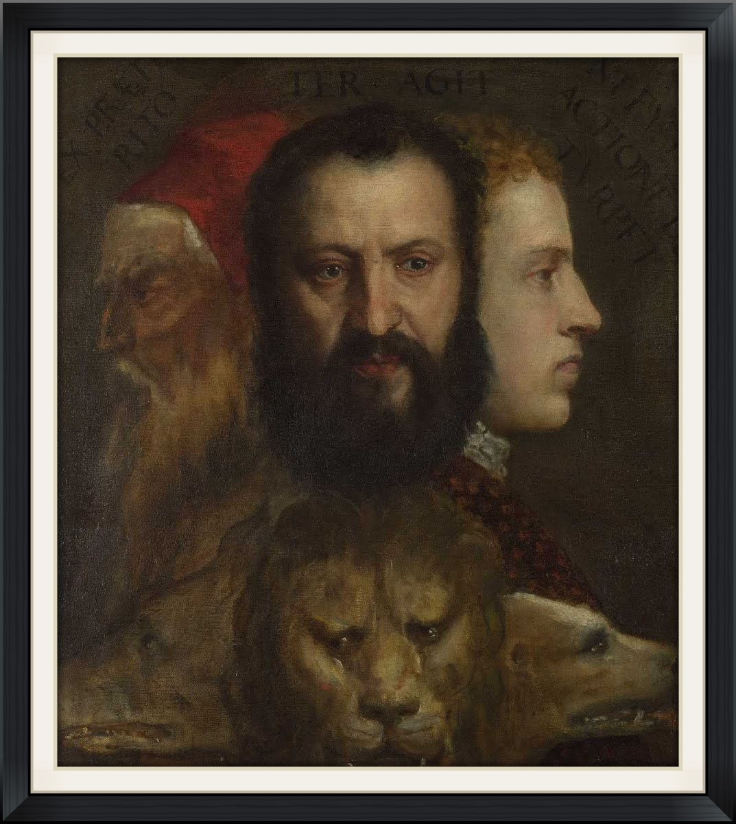 An Allegory of Prudence  Titian and workshop (c. 1550-1565)