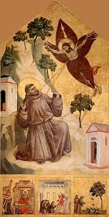 Giotto, Stigmatization of St Francis.  1295-1300.
