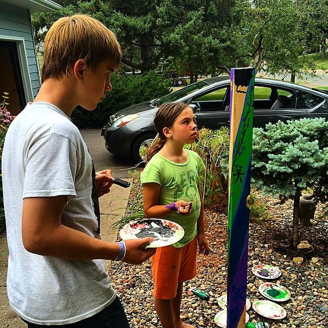 making your garden pole.jpg