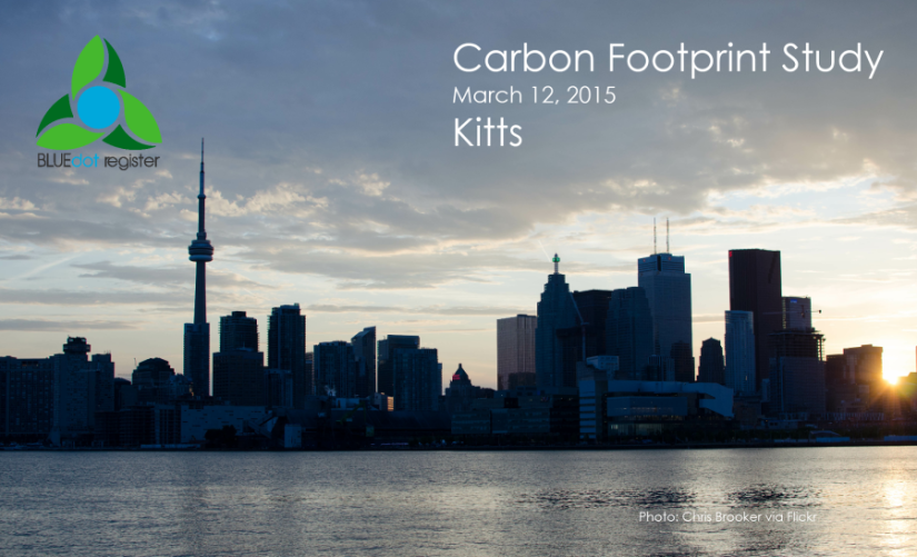 Click  to view the Kitts Carbon Footprint Assessment