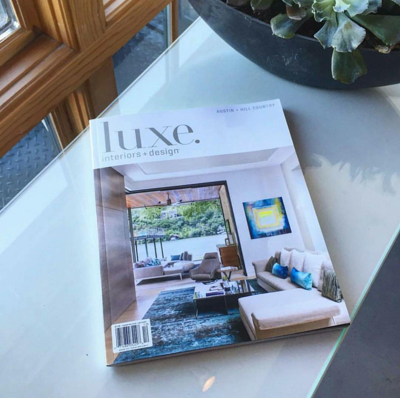Cover of LUXE  interior + design