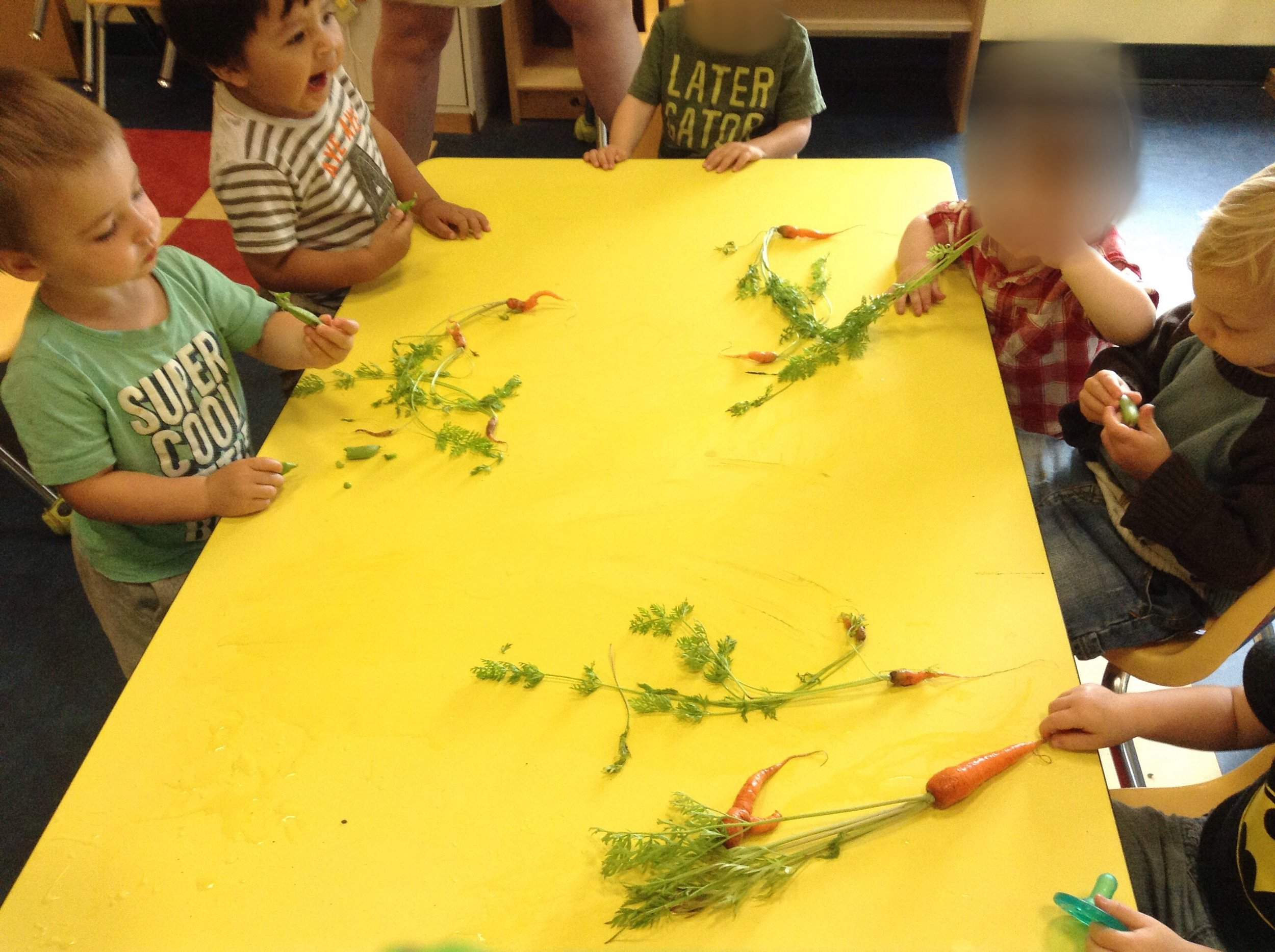 INF TOD ROOM EATING THE VEGGIE OF OUR LABOURS POSTED JULY 27 2017.jpg