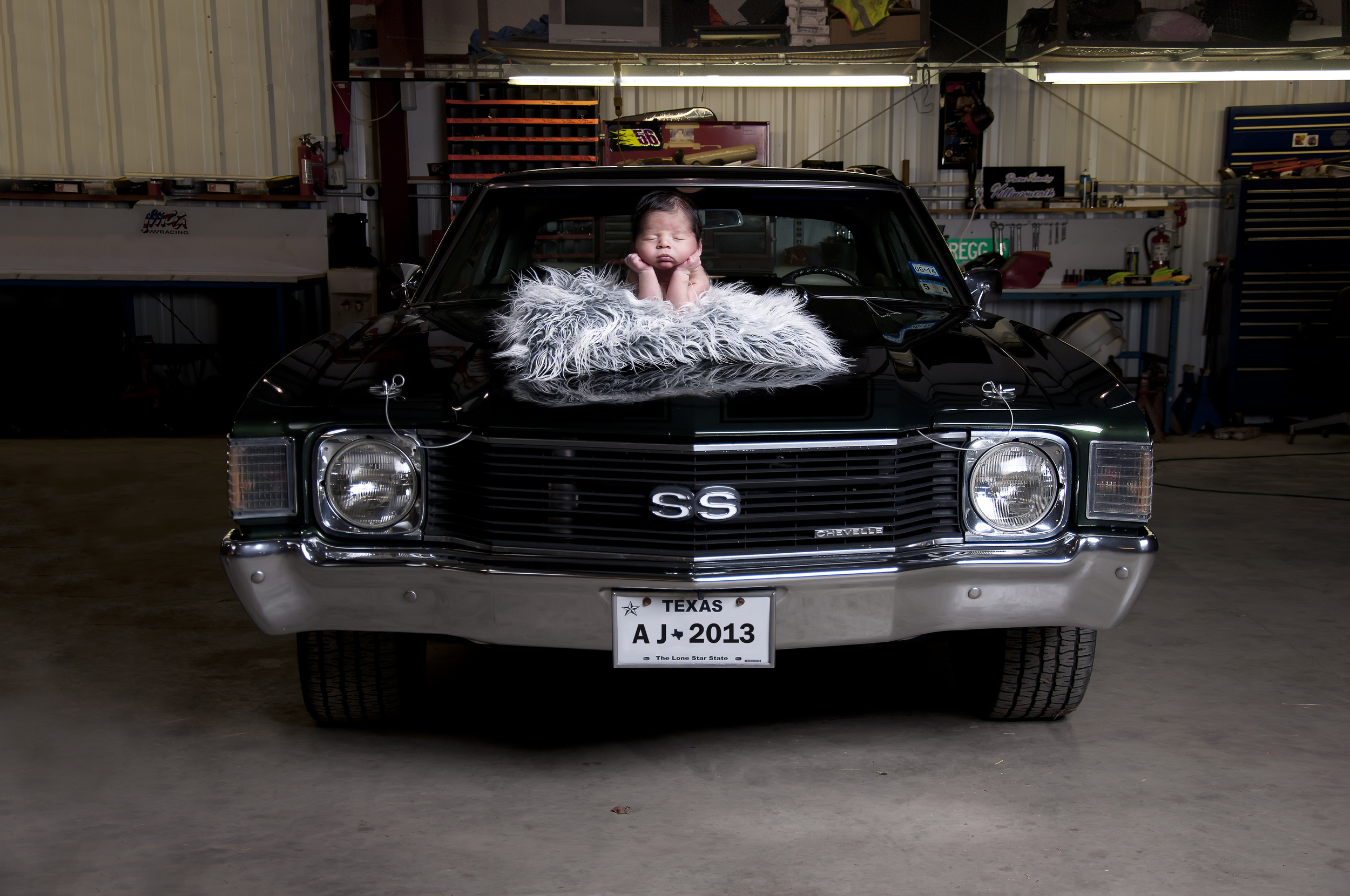 Vintage Cars And Newborn Austin Area Newborn Photography Eternal Forms Photography