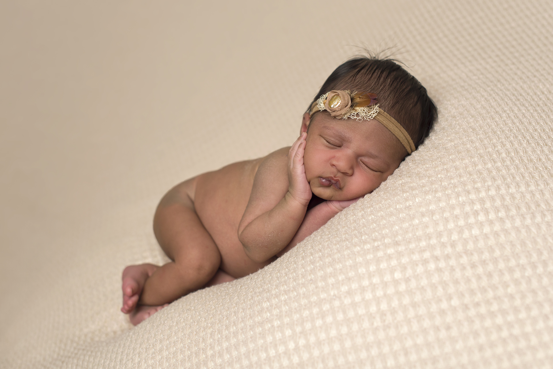 little angel newborn girl