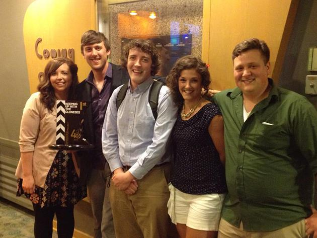 Left to Right: Debra Berger, Eric Carlson, Andrew Neill, Katie Vannelli, and Craig Larson