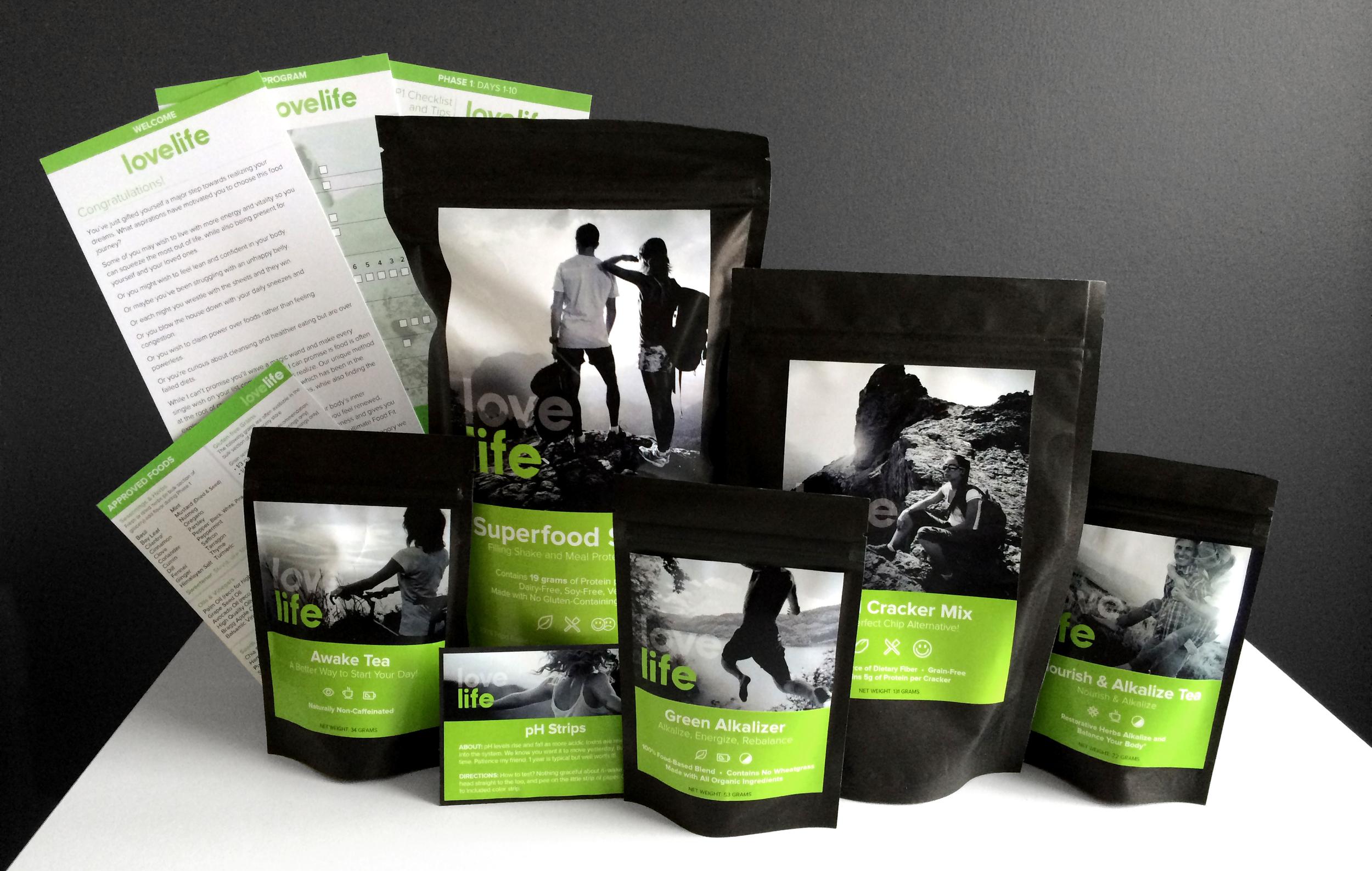 LoveLife Program Consumer Packaged Goods MVP design