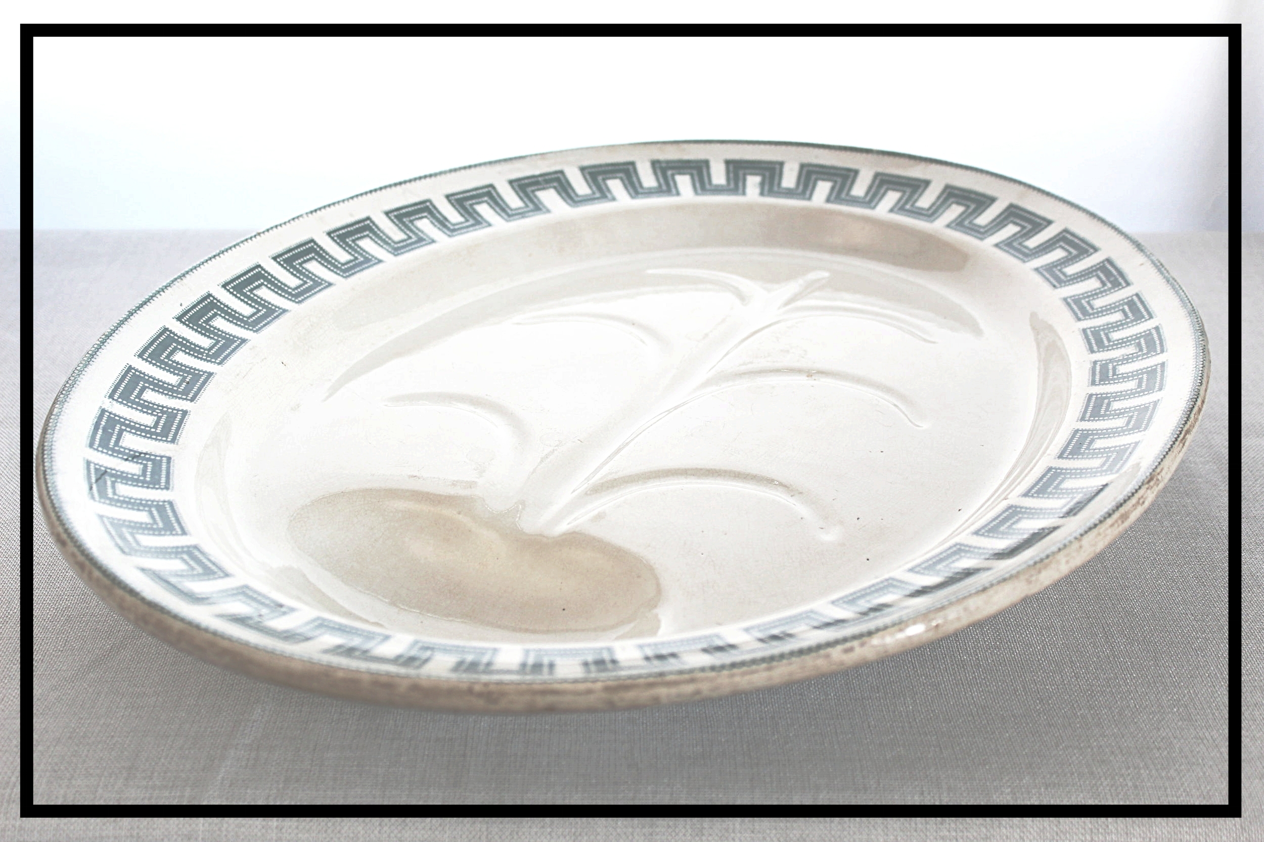 Stately Ironstone Carving Platter - Shop here