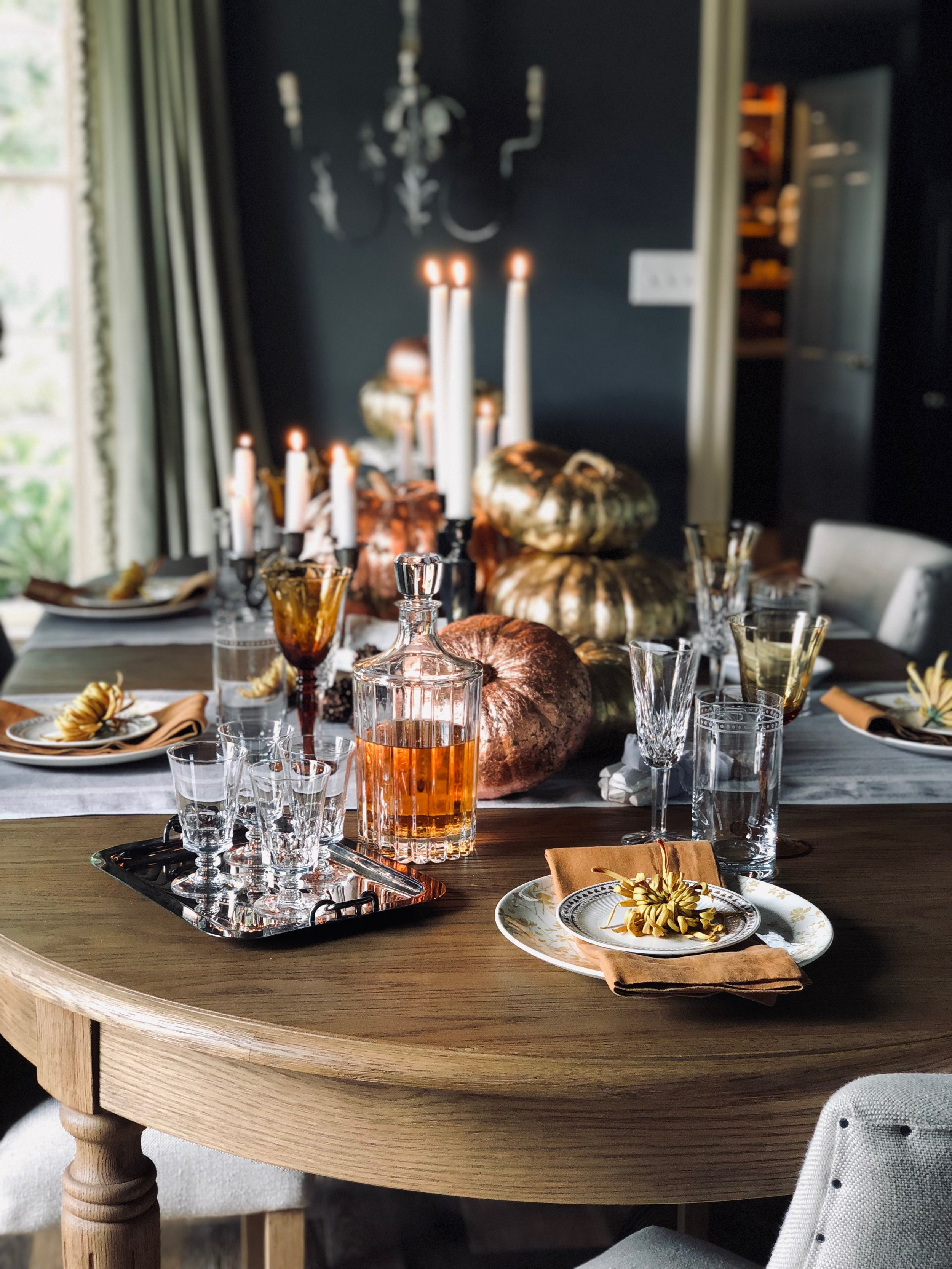 Thanksgiving Day table.JPG