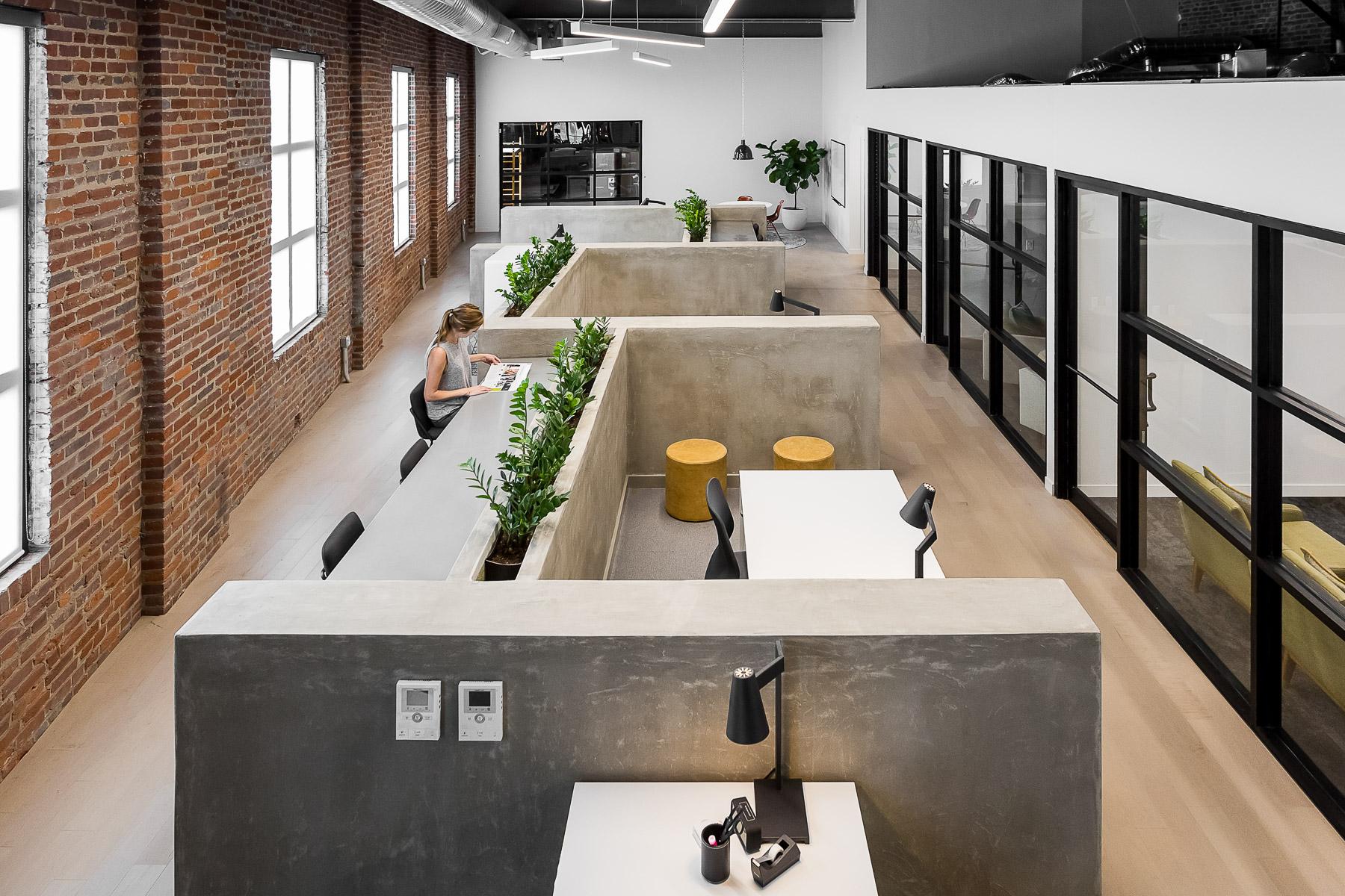open office area