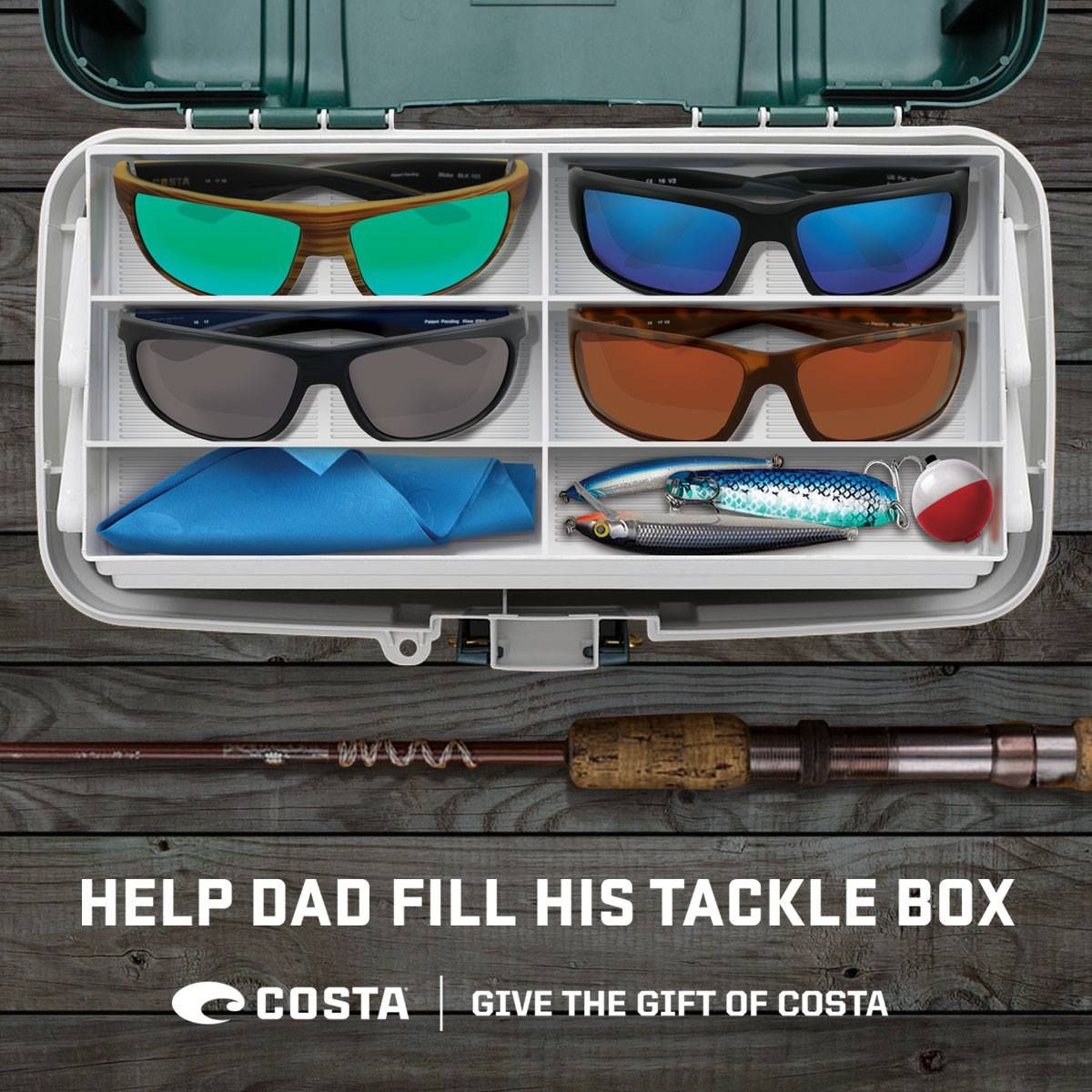 Costa Father's Day Gift Sunglasses
