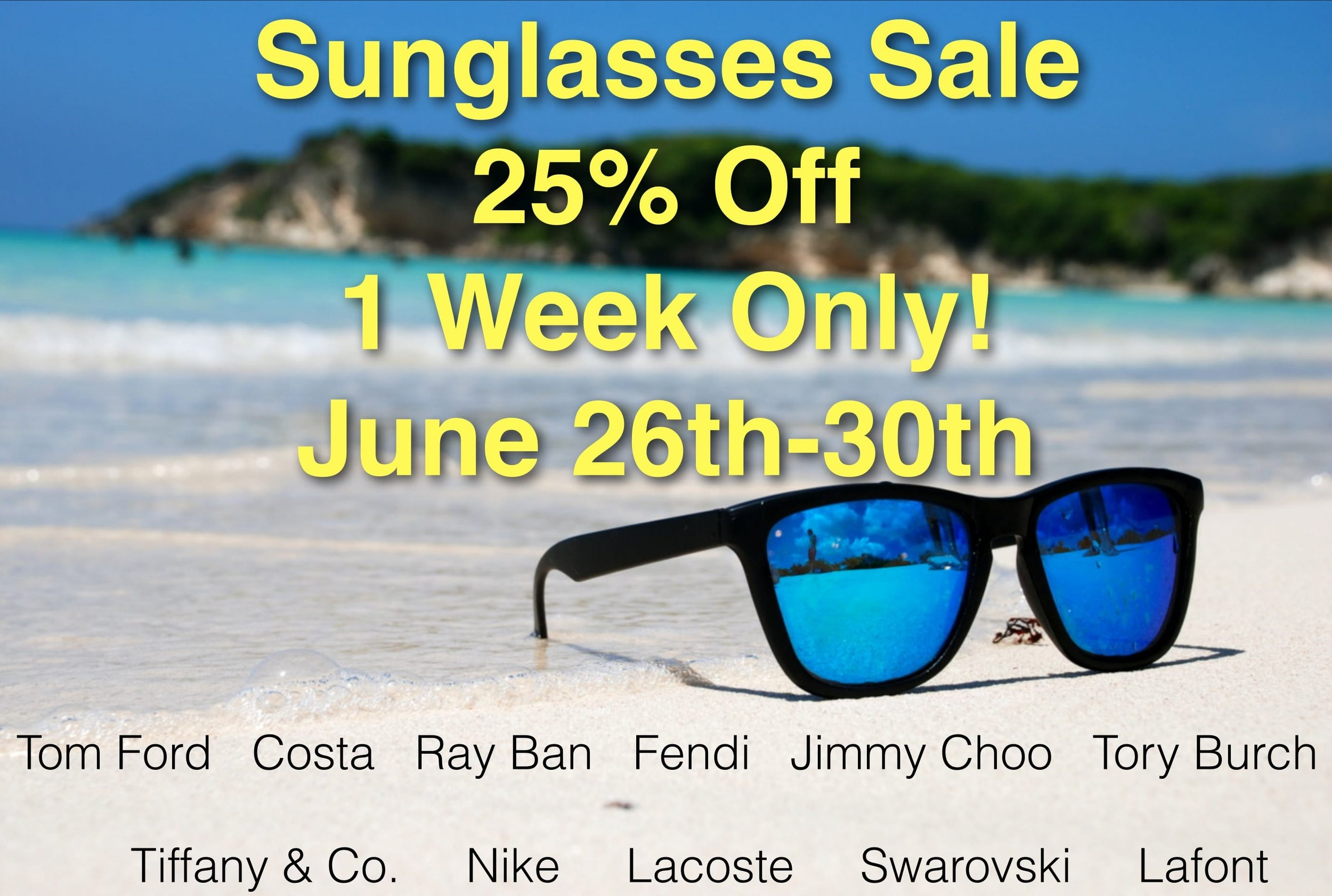 Sunglasses Sale Eagle Eye Vision Care