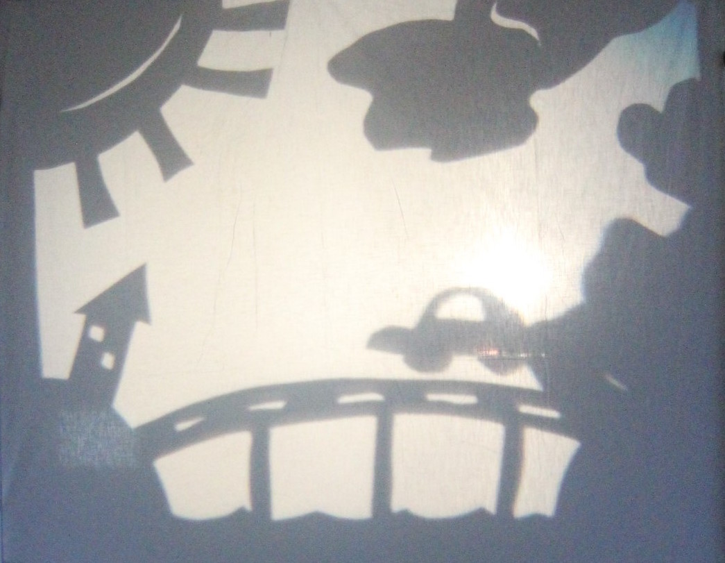 Geelong After Dark Shadow Puppets Photo by Victoria Strachan