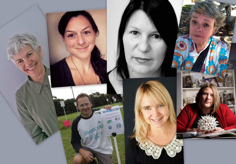 Clockwise from left: Sue Hartigan,Rachella Birch-Samios, Suzette Jackson, Leanne Stein, Esther Konings-Oakes, Fiona Duncan, Matt Crawley