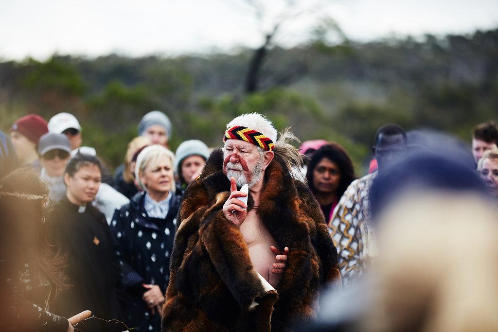 Bryon Powell; Gathering of the Elders Ceremony; Photographer: Ed Sloane