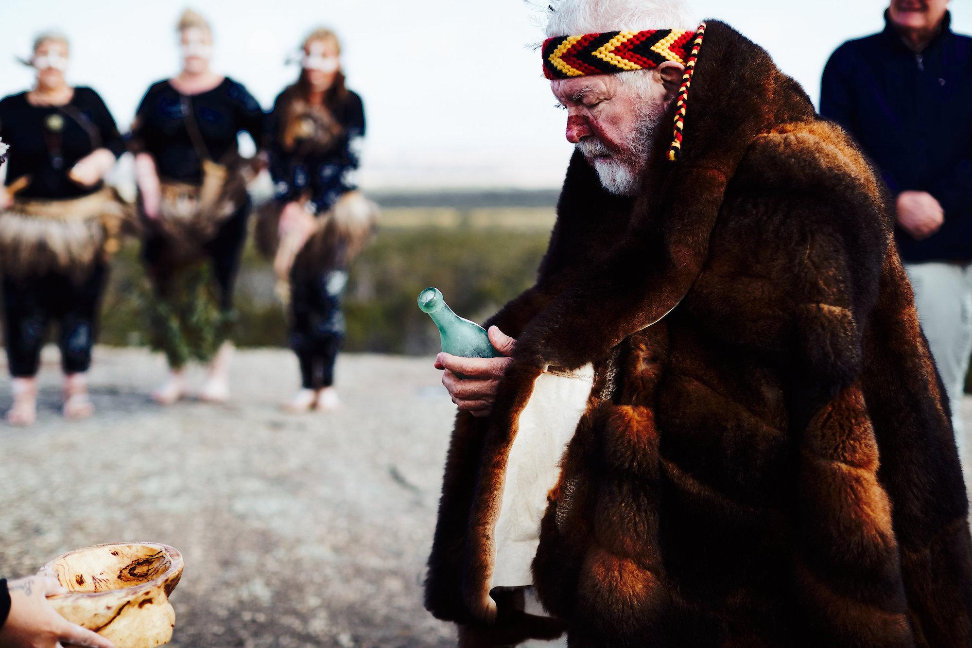 Gathering of the Elders Ceremony; Photographer: Ed Sloane