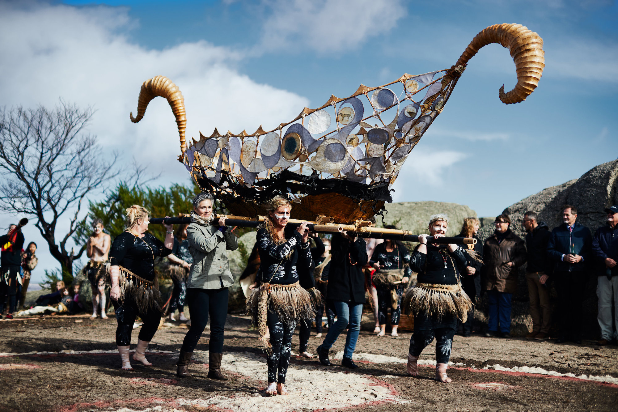 Gathering of the Elders Ceremony; Photographer: Jarrah Lynch
