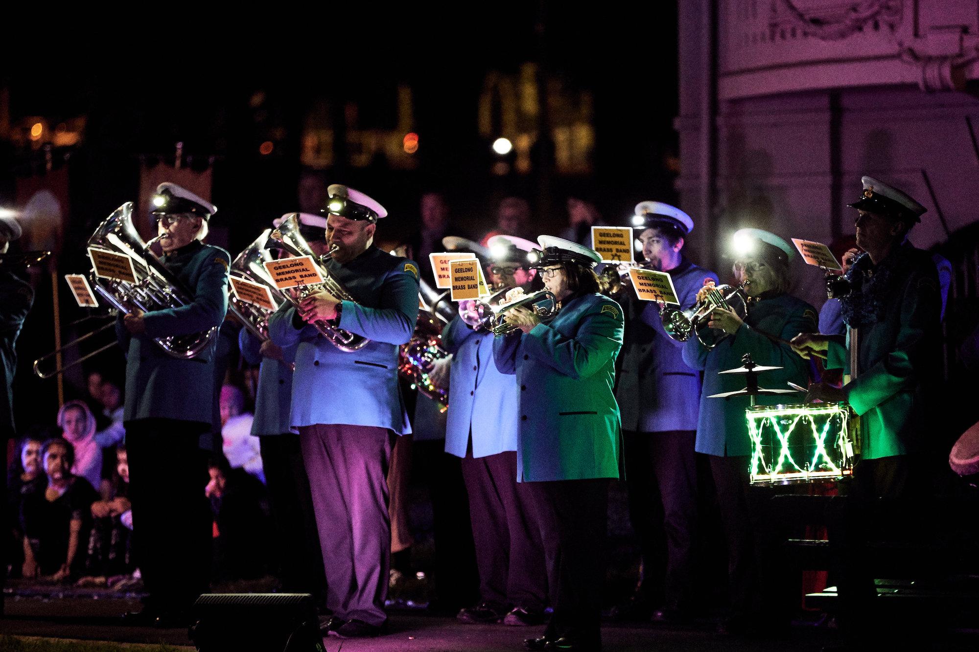 Gathering of the City Ceremony; Photographer: Ed Sloane