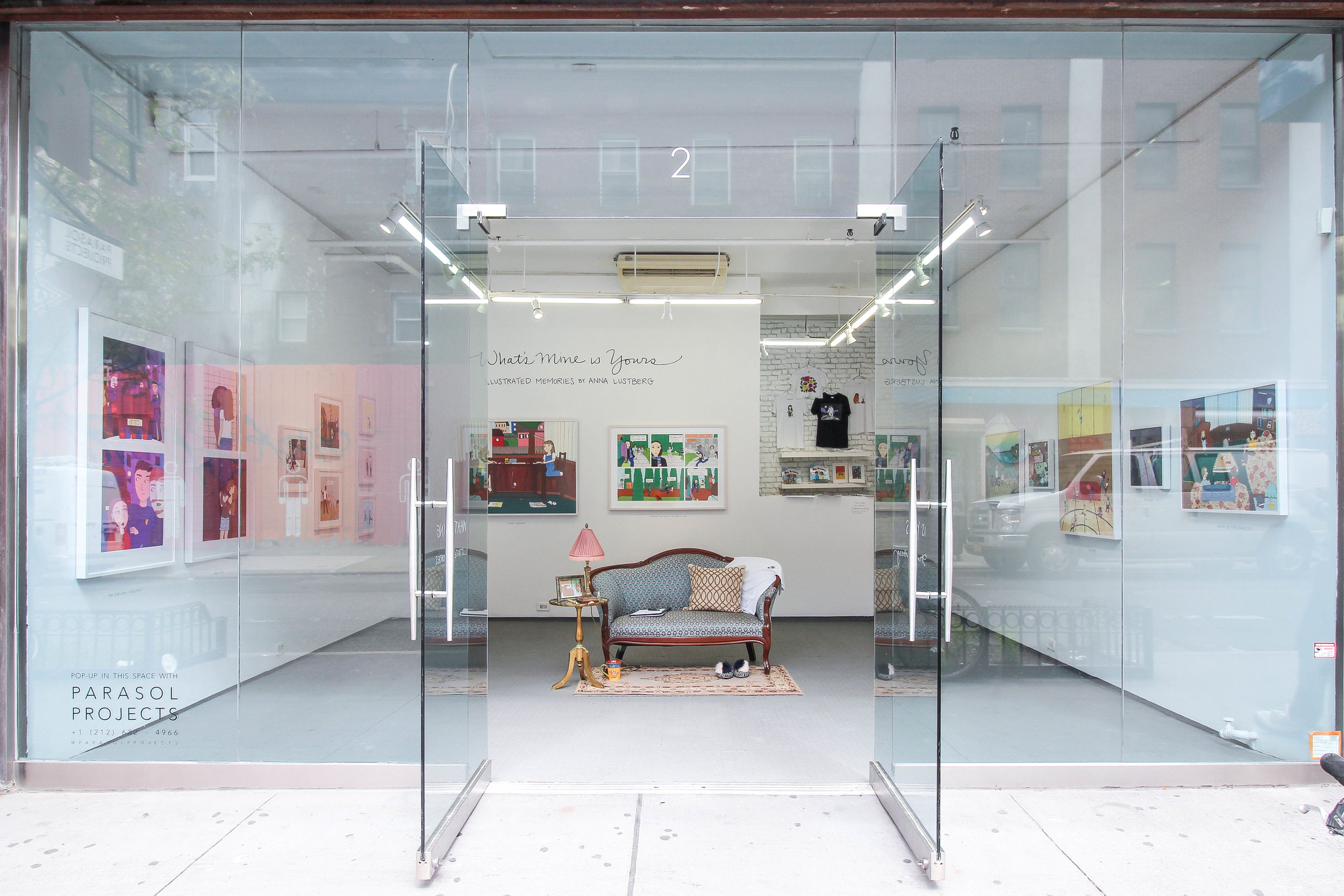 Street View Installation shot by Parasol Projects