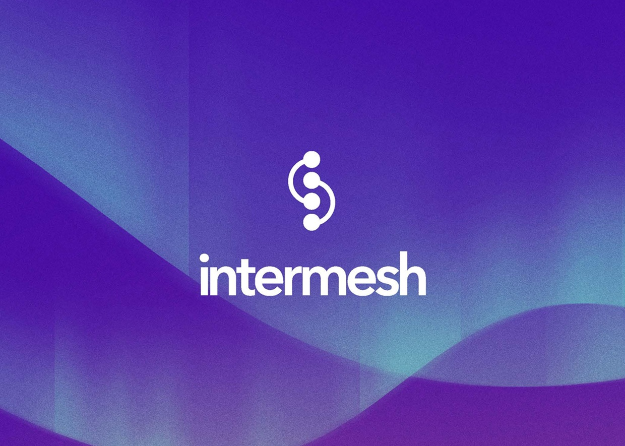 Creative direction for Intermesh, an innovative company harnessing the technology of the 'mesh' network to provide greater scaleability over blockchain. Our scope of work consisted of logo design, corporate identity, and animation.  Lead Designer: Yung Hui