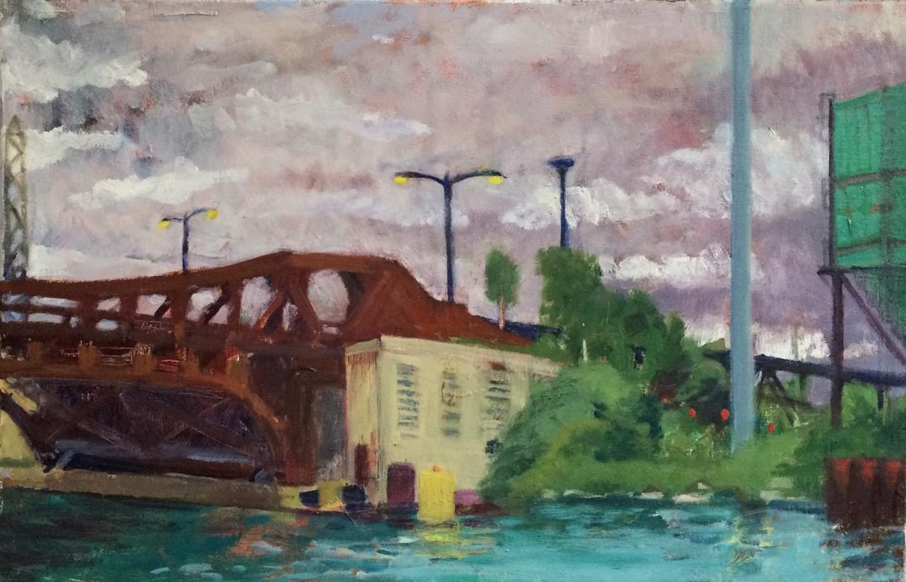 Bridge Over the Cal-Sag Canal, 2015