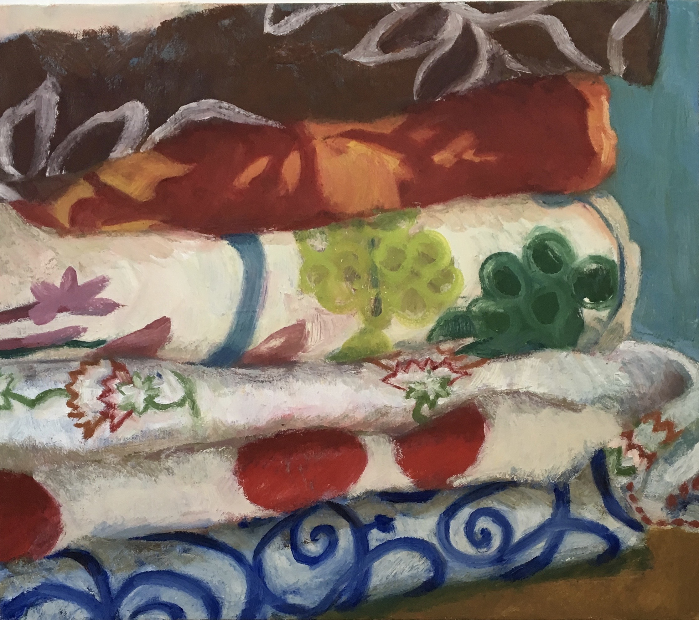 Still Life with Six Patterns, 2016
