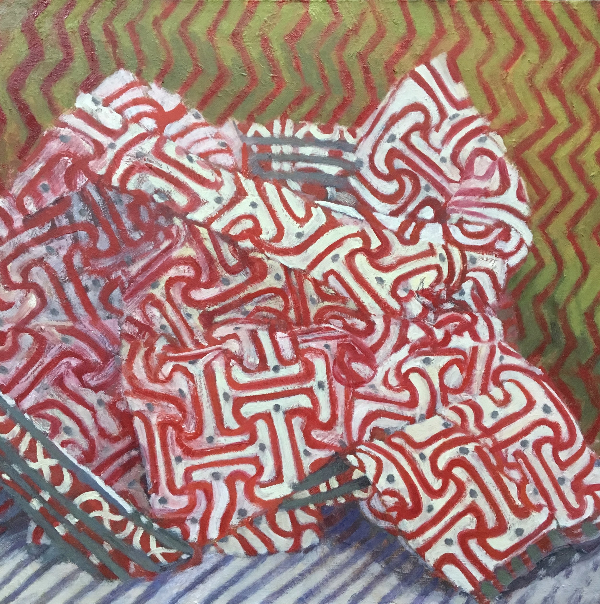 Still Life with Three Patterns, 2017