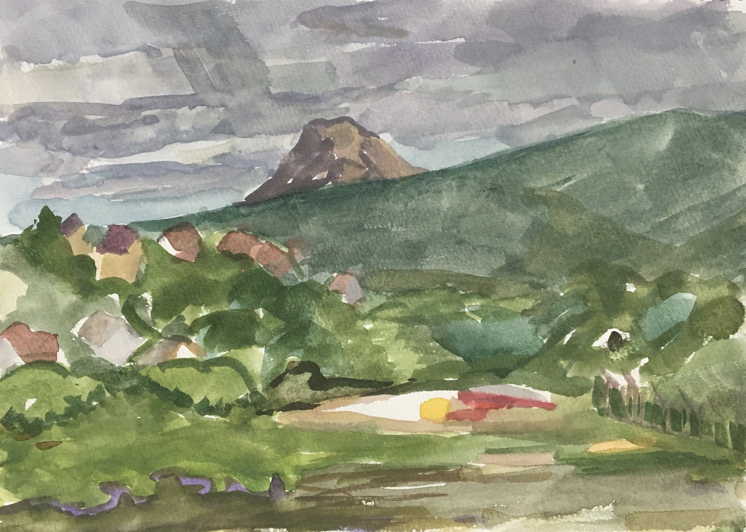 Mt. Errigal, Annagary, Donetal, Ireland, 2017