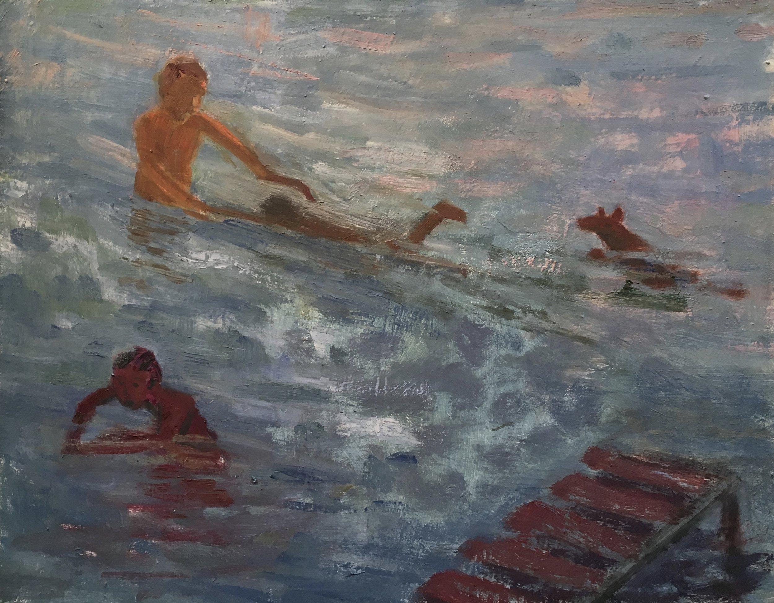 Swimming Lesson, 2017