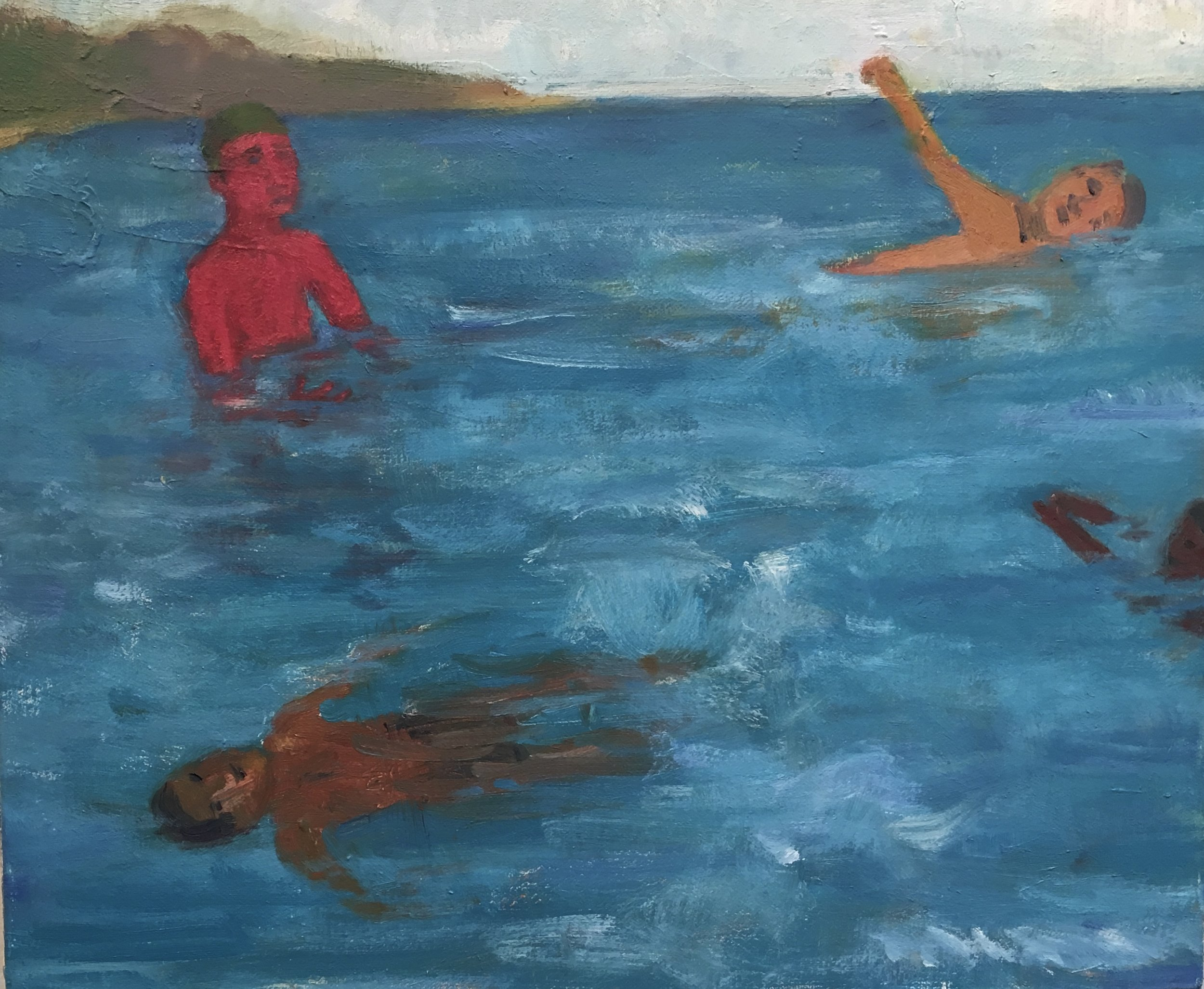 Four Swimmers, 2017