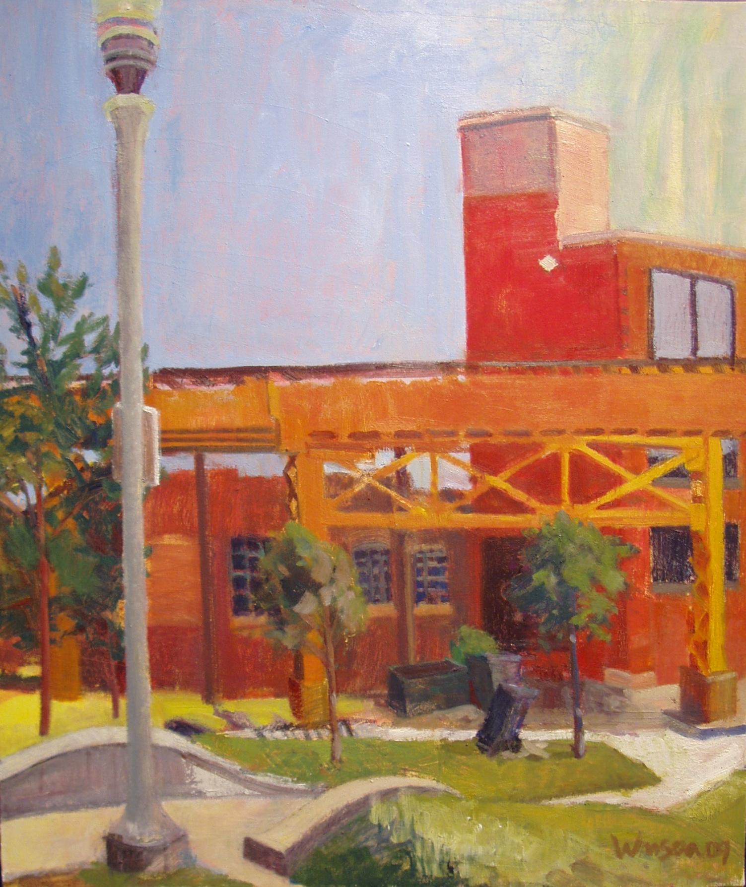 """The """"L"""" Above Park, Bucktown, 2007"""