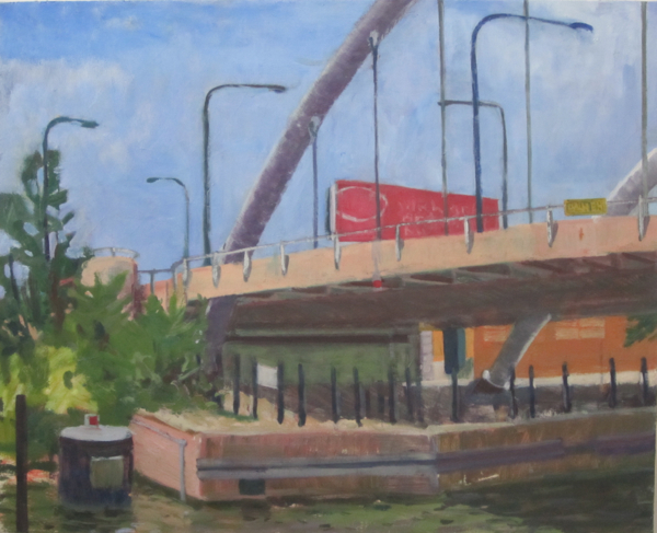 Elston Bridge: Newly White, 2011