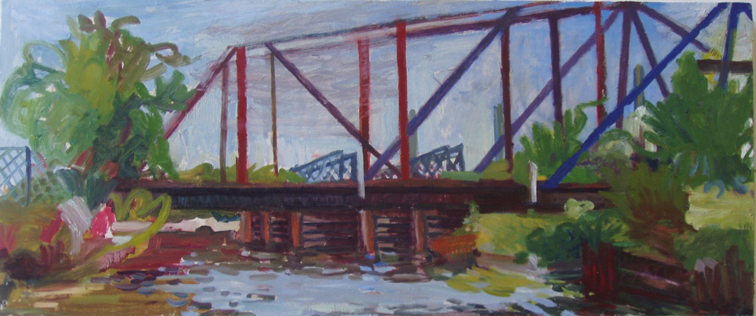 RR Bridge Over Chicago River - North Branch, 2003