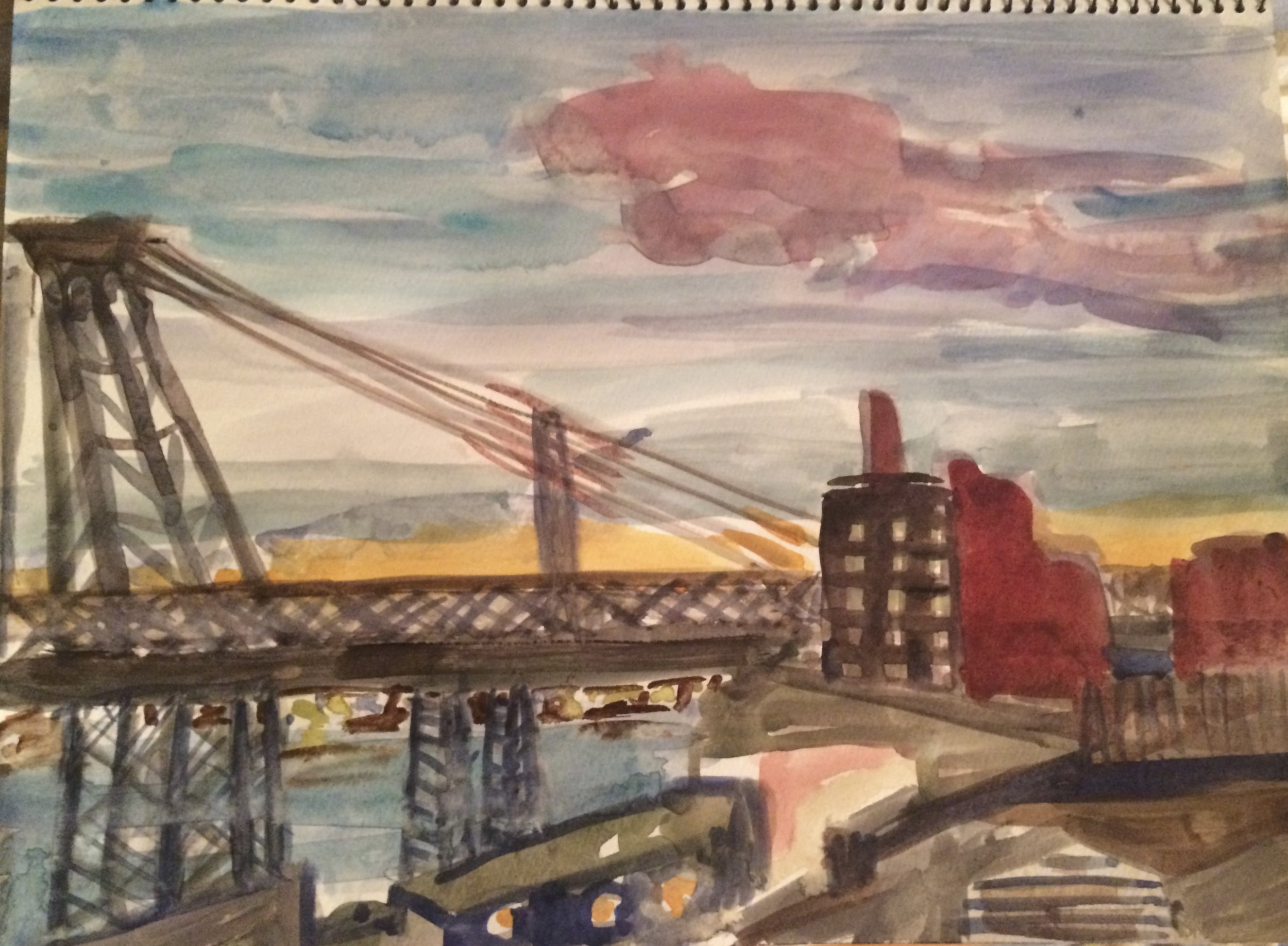 Williamsburg Bridge, Brooklyn 2015