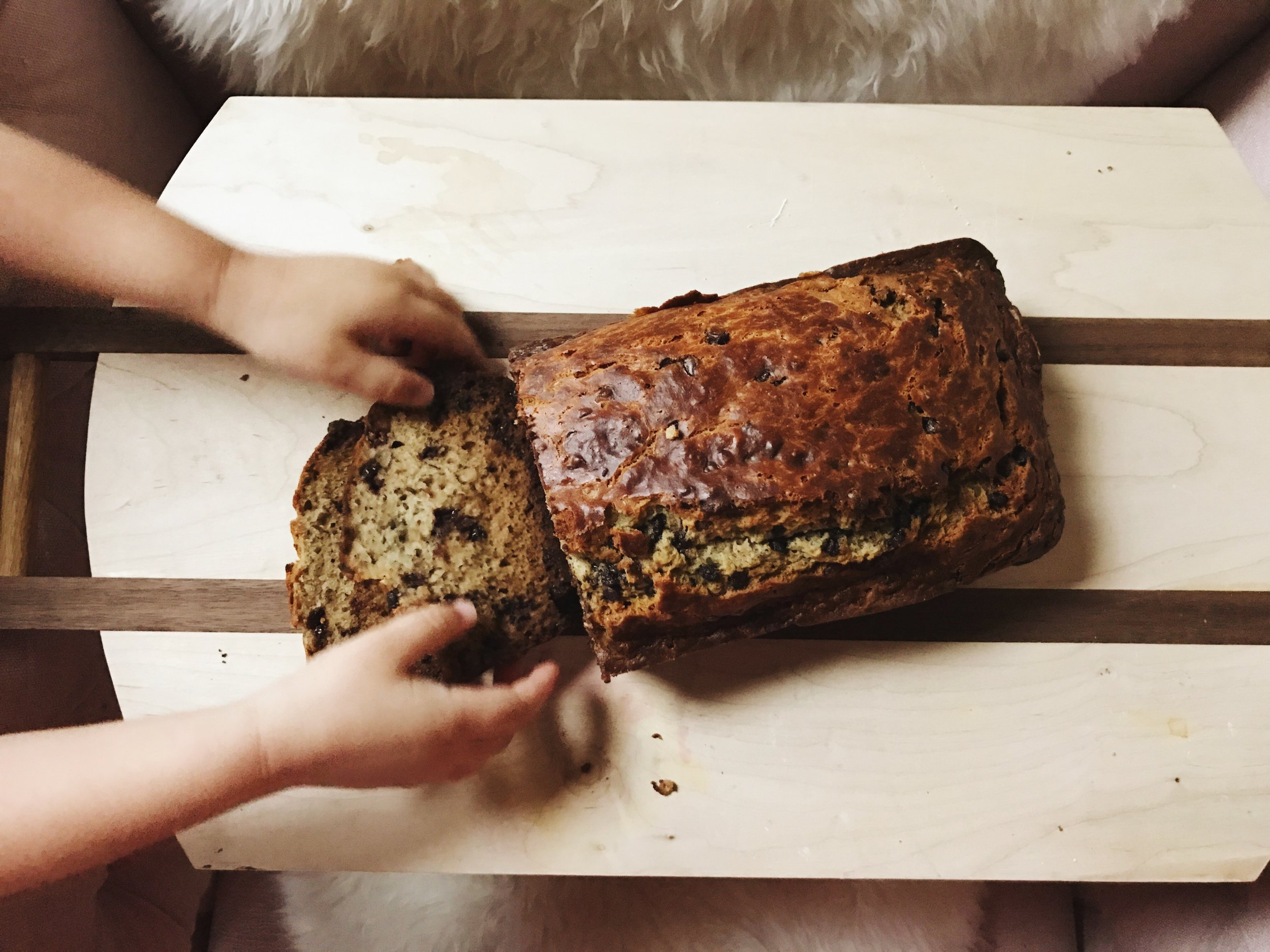 bananabreadsliced