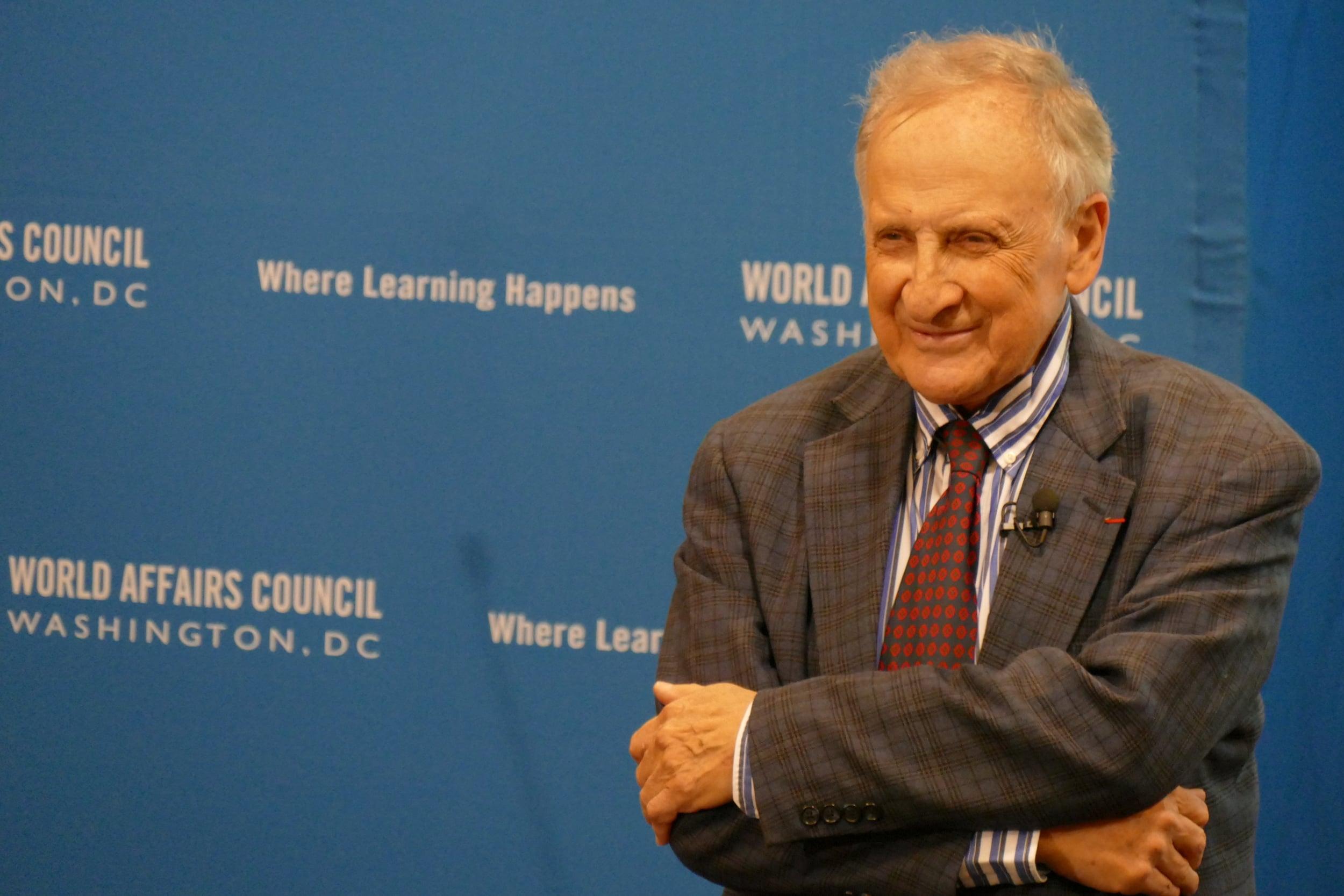 At Washington, DC's World Affairs Council