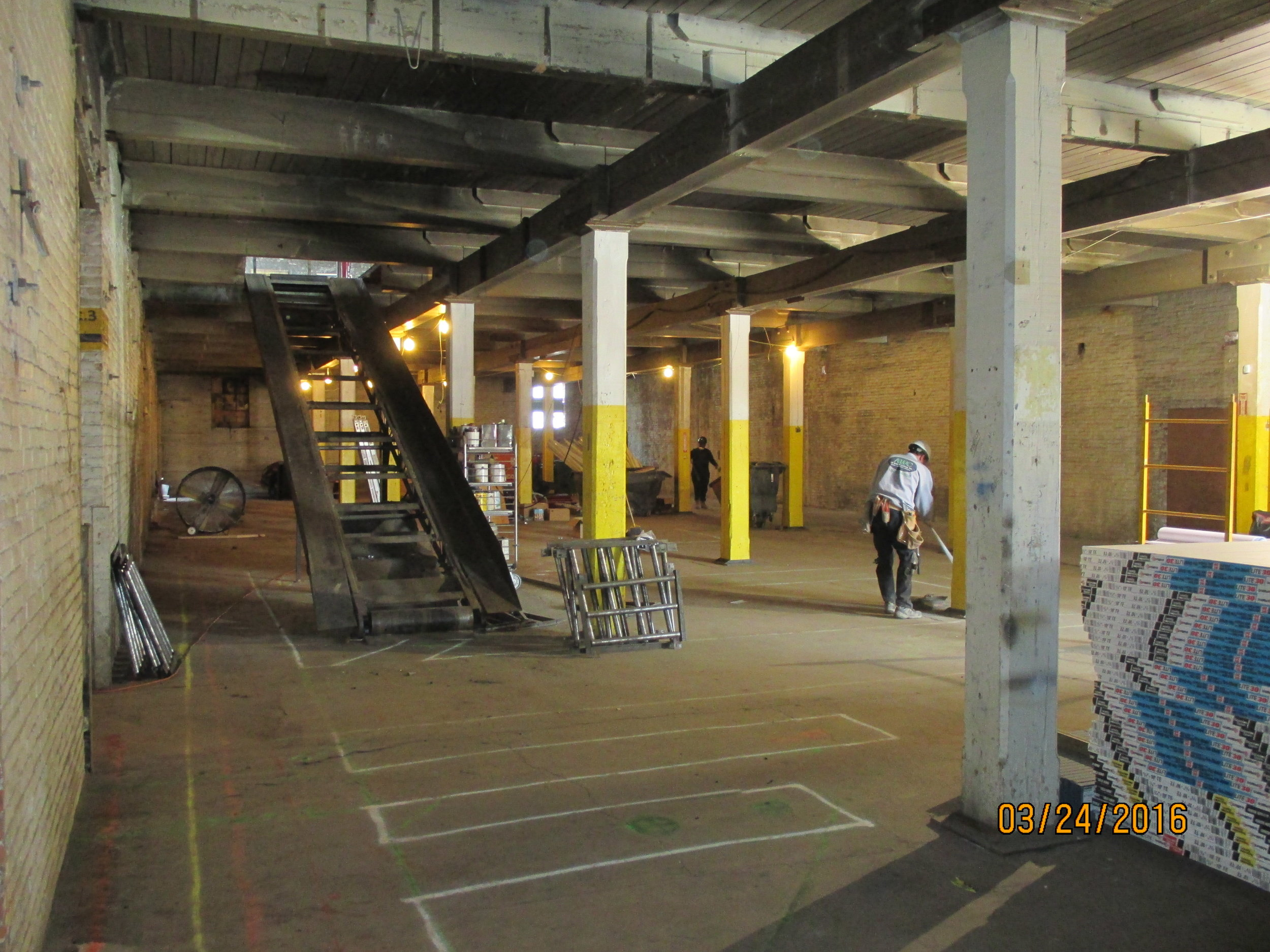 March 2016 Progress 1st Floor